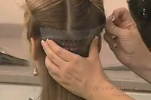 How To Install Strand by Strand Hair Extensions by Donn